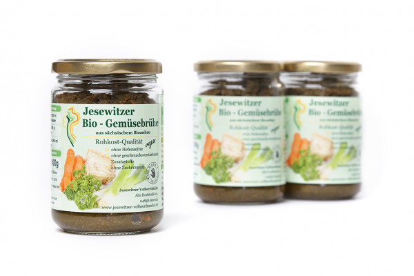 Bio-Gemüsebrühe 3er Pack
